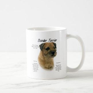 Border Terrier History Design Coffee Mug