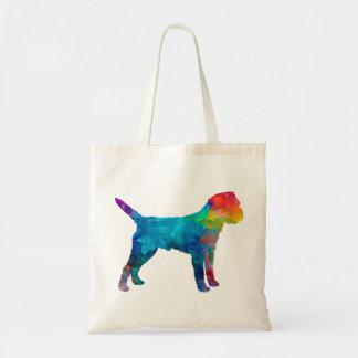 Border Terrier in watercolor