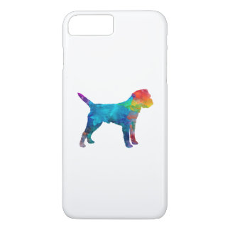 Border Terrier in watercolor iPhone 8 Plus/7 Plus Case