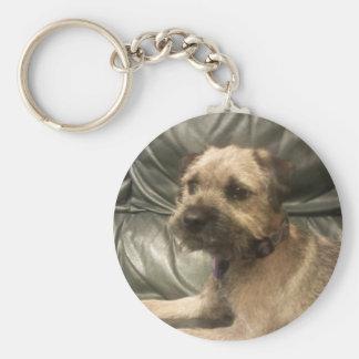 Border Terrier Keychain