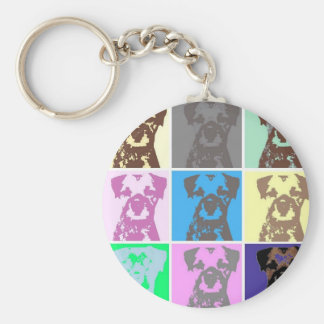 Border Terrier, part II Key Ring