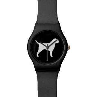 Border Terrier Silhouette Watch