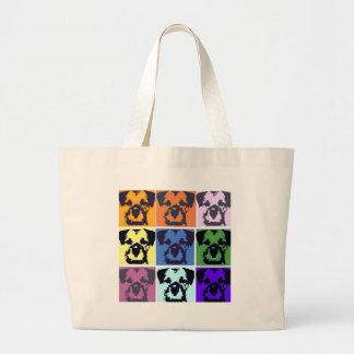 Border Terrier  Jumbo Tote Bag