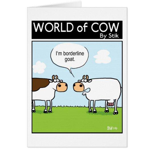 Borderline goat card