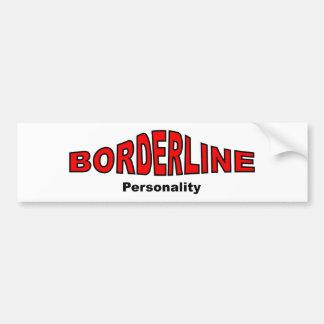 Borderline Personality Disorder Bumper Sticker