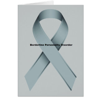 Borderline Personality Disorder Greeting Card