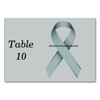 Borderline Personality Disorder Table Cards