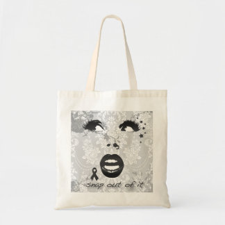 Borderline, Snap out of it graphic face! Tote Bag