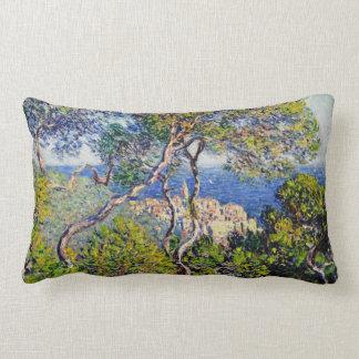 Bordighera, by Claude Monet Lumbar Cushion