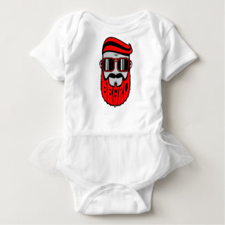 bore red baby bodysuit