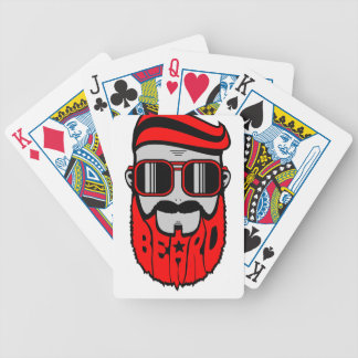 bore red bicycle playing cards