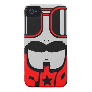bore red Case-Mate iPhone 4 case