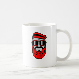 bore red coffee mug