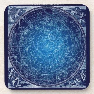 Boreal Hemysphere Sky constellations Coaster
