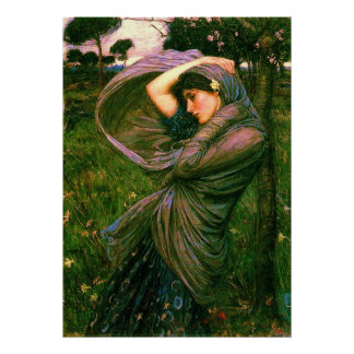 Boreas (1902)~ Fine Art Canvas Poster