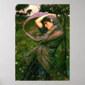 Boreas 1902 Fine Art Canvas Print