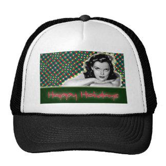 Bored Brunette - Happy Holidays Hat