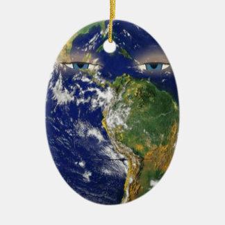 BORED EARTH CERAMIC ORNAMENT