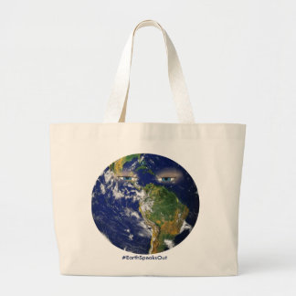 BORED EARTH LARGE TOTE BAG