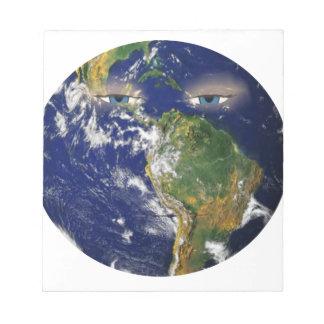 BORED EARTH NOTEPAD