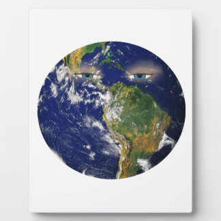 BORED EARTH PLAQUE