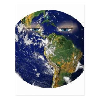 BORED EARTH POSTCARD