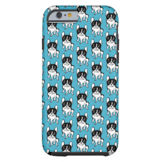 Bored Frenchie Tough iPhone 6 Case