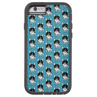 Bored Frenchie Tough Xtreme iPhone 6 Case