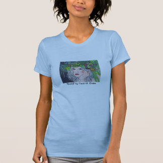 Bored Ladies (Fitted) Twofer Sheer Tshirt