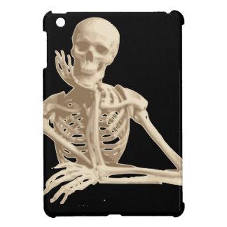Bored Skeleton iPad Mini Cases