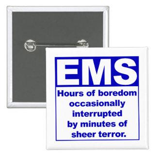 Boredom/Terror 15 Cm Square Badge