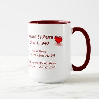 Borek Grandparents 2 Mug