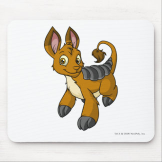 Bori Brown Mouse Pad