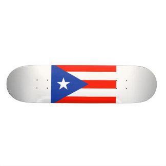 Boricua Bandera Flag of Puerto Rico 4Hector 19.7 Cm Skateboard Deck