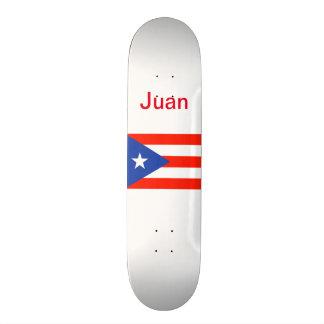 Boricua Bandera Puerto Rican Flag 4Juan Skate Board Decks