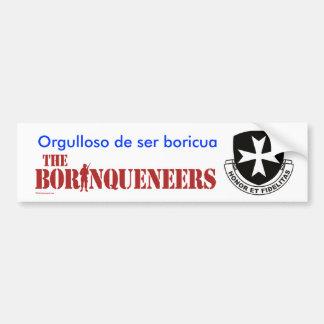Boricua - Bumper Sticker
