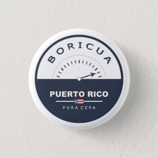 Boricua de Pura Cepa: Puerto Rico: Pin