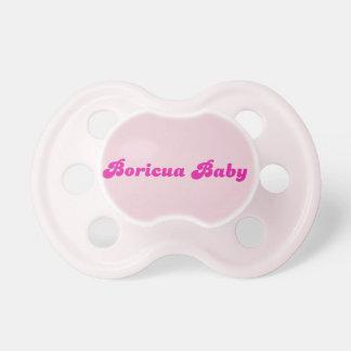 Boricua Pacifier Un Bobo Para Bebe