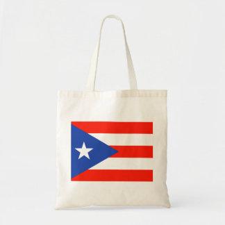 Boricua Puerto Rican Flag Amor Hector's fave Budget Tote Bag