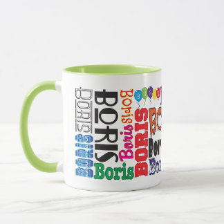 Boris Coffee Mug