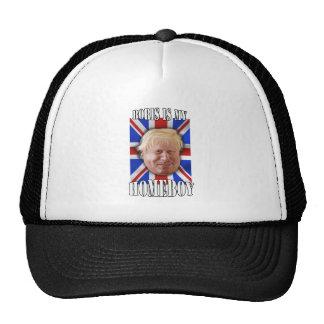 "Boris Johnson, ""Boris is my homeboy"" Mayor Mesh Hat"