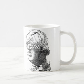 Boris Johnson caricature mug