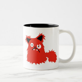 Boris the Cat Two-Tone Coffee Mug