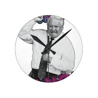 Boris Yeltsin Dance Dance Hot Summer 1996 Round Clock