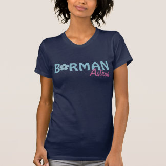 Borman Astros Blue Flower T-shirt design