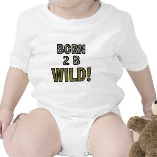 Born 2 B Wild! Baby Bodysuits