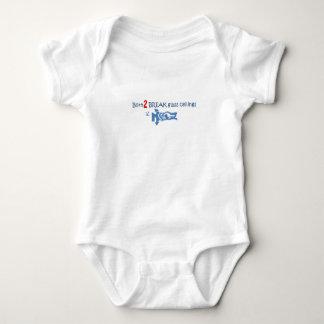 Born 2 Break glass ceilings Baby Bodysuit