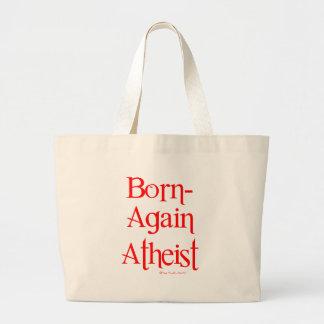 Born-Again Atheist Jumbo Tote Bag