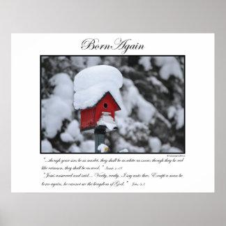 Born Again - Bird House Poster