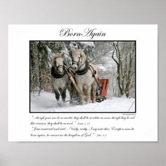 Born Again - Horse Poster